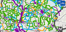 bike map screenshot